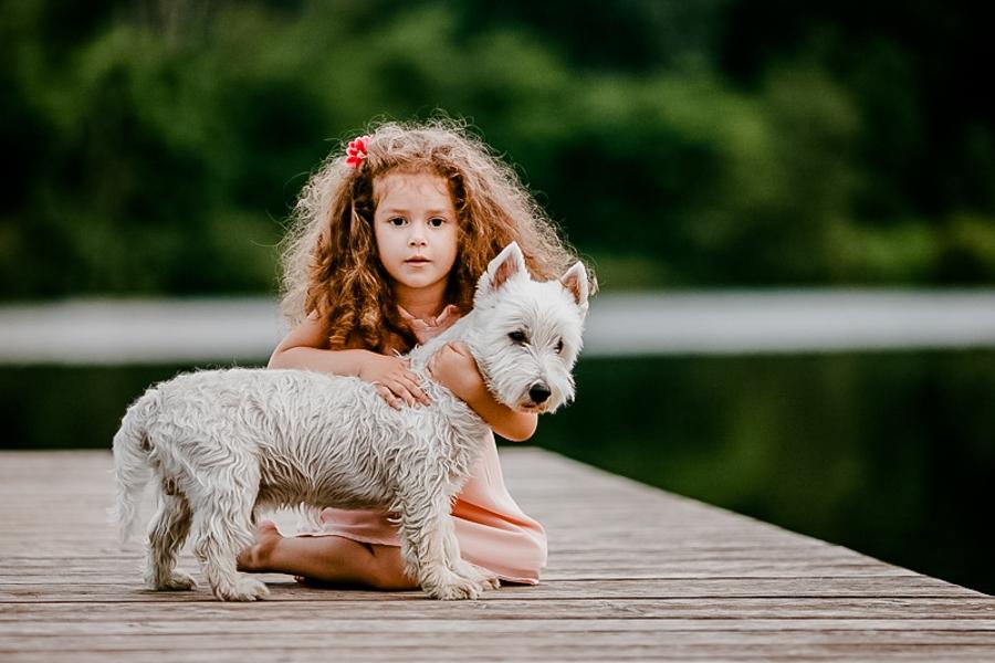 Sesiune foto la Dunare